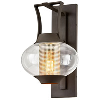 Troy Lighting B7022 Horton 1 Light 11 inch Texture Bronze Wall Sconce Wall Light