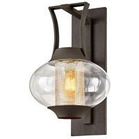 Troy Lighting B7023 Horton 1 Light 14 inch Texture Bronze Wall Sconce Wall Light