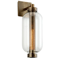 Troy Lighting B7031 Atwater 1 Light 7 inch Vintage Brass Wall Sconce Wall Light