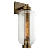 Troy Lighting B7032 Atwater 1 Light 8 inch Vintage Brass Wall Sconce Wall Light