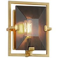 Troy Lighting B7082 Prism 7 inch Gold Leaf ADA Wall Sconce Wall Light