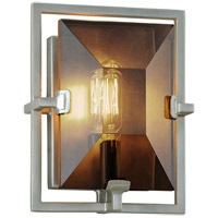 Troy Lighting B7092 Prism 7 inch Silver Leaf ADA Wall Sconce Wall Light