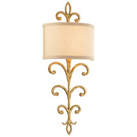 Troy Lighting B7182 Crawford 11 inch Crawford Gold Wall Sconce Wall Light