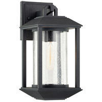 Troy Lighting B7281 Mccarthy 1 Light 7 inch Weathered Graphite Wall Sconce Wall Light