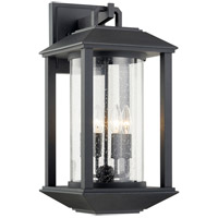 Troy Lighting B7283 Mccarthy 4 Light 11 inch Weathered Graphite Wall Sconce Wall Light