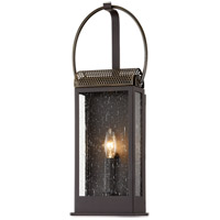 Troy Lighting B7421 Holmes 1 Light 8 inch Bronze and Brass ADA Wall Sconce Wall Light