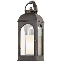 Troy Lighting B7752 Derby 1 Light 8 inch Aged Pewter Wall Sconce Wall Light