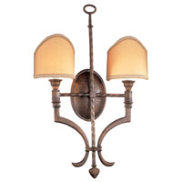 Hawthorne 2 Light 16 inch Gilded Bronze ADA Wall Sconce Wall Light