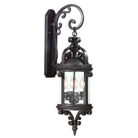 Troy Lighting Pamplona 1 Light Outdoor Wall Lantern Dark Sky in Old Bronze B9122OBZ-D