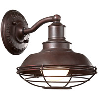 Troy Lighting Circa 1910 1 Light Outdoor Wall Downlight in Old Rust B9270OR