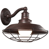 Troy Lighting Circa 1910 1 Light Outdoor Wall Downlight in Old Rust B9271OR photo thumbnail
