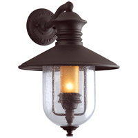 Troy Lighting Old Town 1 Light Outdoor Wall Lantern in Natural Bronze B9361NB