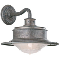 South Street 1 Light 10 inch Old Galvanize Outdoor Wall Downlight in Old Galvanized