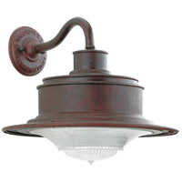 Troy Lighting B9390OR South Street 1 Light 10 inch Old Rust Outdoor Wall Downlight