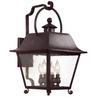 Bristol 4 Light 21 inch Natural Bronze Outdoor Wall Lantern
