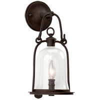 Owings Mill 1 Light 16 inch Natural Bronze Outdoor Wall Lantern