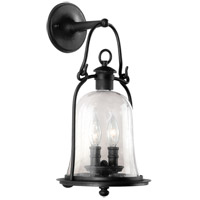 Troy Lighting Owings Mill 2 Light Outdoor Wall Lantern in Natural Bronze B9462NB