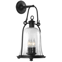 Owings Mill 3 Light 21 inch Natural Bronze Outdoor Wall Lantern