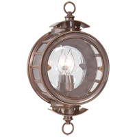 Charleston 1 Light 15 inch Heritage Bronze Outdoor Wall Lantern