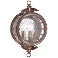 Charleston 2 Light 20 inch Heritage Bronze Outdoor Wall Lantern