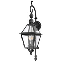 Townsend 3 Light 33 inch Natural Bronze Outdoor Wall Lantern