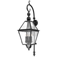 Troy Lighting Townsend 4 Light Outdoor Wall Lantern in Natural Bronze B9623NB