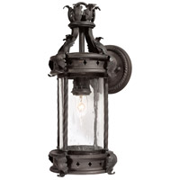 Troy Lighting Los Feliz 1 Light Outdoor Wall Lantern in Old Bronze B9630OBZ
