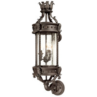 Troy Lighting Los Feliz 3 Light Outdoor Wall Lantern in Old Bronze B9632OBZ