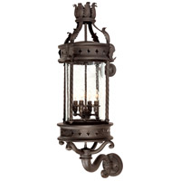 Troy Lighting Los Feliz 4 Light Outdoor Wall Lantern in Old Bronze B9633OBZ