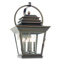 Troy Lighting Westport 4 Light Outdoor Wall Lantern in English Bronze B9722EB