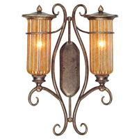 Troy Lighting Lido 2 Light Outdoor Wall Lantern in Bronze Leaf B9794BLF