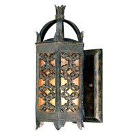 Troy Lighting Gables 1 Light Outdoor Wall Lantern in Charred Gold B9901CG