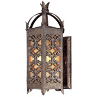 Troy Lighting Gables 3 Light Outdoor Wall Lantern in Charred Gold B9902CG