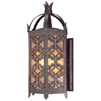 Troy Lighting Gables 4 Light Outdoor Wall Lantern in Charred Gold B9903CG