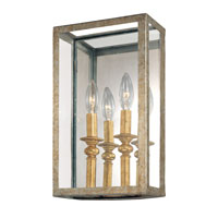 Troy Lighting Morgan 2 Light Pocket Sconce in Gold Silver Leaf B9992GSL