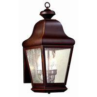 Troy Lighting Carlton 3 Light Outdoor Wall Lantern in Oil Rubbed Bronze BCD4920OB photo thumbnail