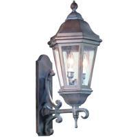 Troy Lighting BCD6831BZ Verona 2 Light 25 inch Bronze Outdoor Wall Lantern