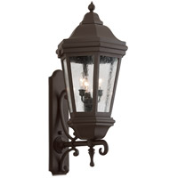 Verona 3 Light 35 inch Bronze Outdoor Wall Lantern