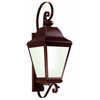 Troy Lighting Carlton II 4 Light Outdoor Wall Lantern in Oil Rubbed Bronze BCD6842OB