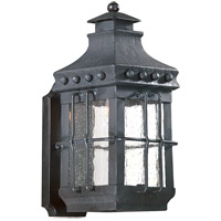 Dover 1 Light 15 inch Natural Bronze Outdoor Wall Lantern in Incandescent