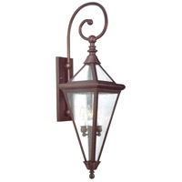 Troy Lighting Geneva 4 Light Outdoor Wall Lantern in Old Rust BCD8992OR