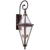 Troy Lighting Geneva 2 Light Outdoor Wall Lantern in Old Rust BCD8994OR