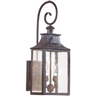 Troy Lighting BCD9002OBZ Newton 2 Light 23 inch Old Bronze Outdoor Wall Lantern in Incandescent  photo thumbnail