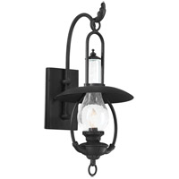 La Grange 1 Light 21 inch Old Bronze Outdoor Wall Lantern