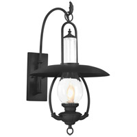 La Grange 1 Light 27 inch Old Bronze Outdoor Wall Lantern