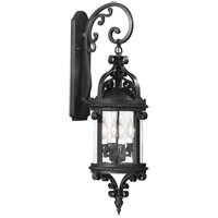 Pamplona 4 Light 30 inch Old Bronze Outdoor Wall Lantern in Incandescent
