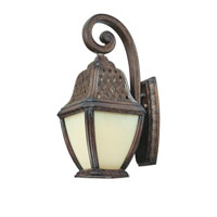 Troy Lighting Biscayne 1 Light Outdoor Wall Lantern Fluorescent in Biscayne BF2082BI