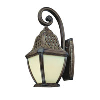 Troy Lighting Biscayne 1 Light Outdoor Wall Lantern Fluorescent in Biscayne BF2083BI