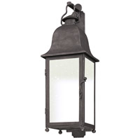 Troy Lighting Larchmont 1 Light Outdoor Wall in Aged Pewter BF3212