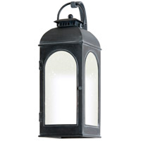 Derby 1 Light 23 inch Antique Iron Outdoor Wall Fluorescent